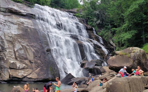 Falls gorges